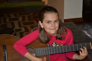 Abby with Guitar