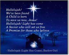 Image - Hallelujah Light Has Come