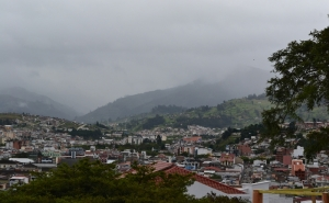 Photo: Cloudy Day in the City of Loja