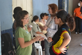 Picture: Katilyn at Medical Caravan