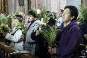 Picture: Palm Sunday Mass