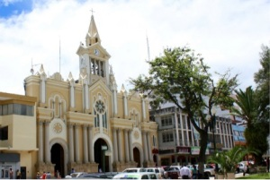 Picture:  Cathedral in Loja