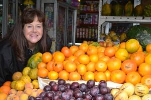 Foto: Terri at fruit stand